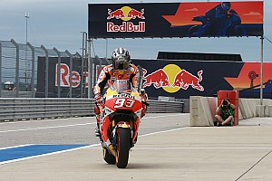 MotoGP Репортаж з практики Гран Прі Америк: Маркес став найшвидшим у розминці