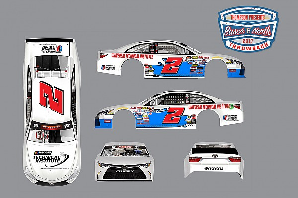 NASCAR unveils special paint schemes for Busch North throwback