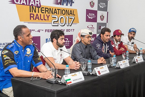 بطولة الشرق الأوسط للراليات أخبار عاجلة رالي قطر 2017: تقلّص عدد السيارات إلى 5 قبل انطلاق المرحلة الأولى