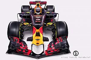 GENEL Özel Haber 2017 Red Bull RB13 fantezi tasarım