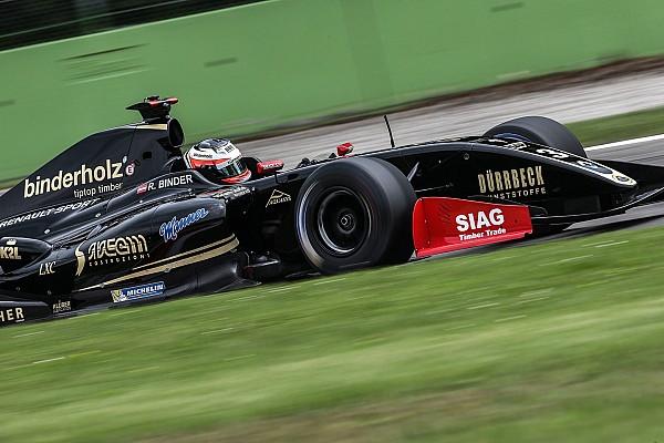 فورمولا  V8 3.5 تقرير السباق فورمولا 3.5: بايندر يفوز بالسباق الأوّل