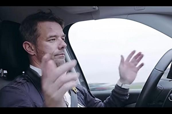 Vidéo - Sébastien Loeb à bord de la voiture autonome PSA