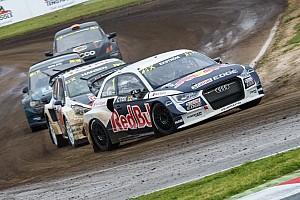 World Rallycross Reporte de la carrera Ekstrom gana en Barcelona en la apertura del Mundial de Rallycross