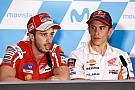 MotoGP Dovizioso prêt à repartir à zéro dans la course au titre