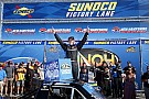 NASCAR Truck Bell takes Loudon Truck win after late-race battle with Ryan Truex