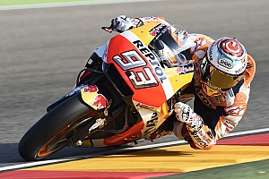 MotoGP レースレポート アラゴンGP決勝:マルケス優勝でホンダ1-2。ロッシ5位完走を果たす