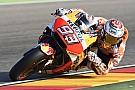 MotoGP Marquez doet goede WK-zaken met winst in Aragon, Rossi vijfde