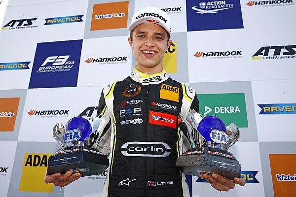 FIA F2 El junior de McLaren, Lando Norris, debutará en F2 en Abu Dhabi