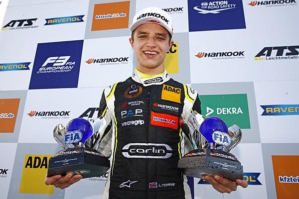 Norris debutará en F2 en Abu Dhabi
