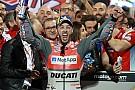 "MotoGP Dovizioso define prova em Losail como ""perfeita"""