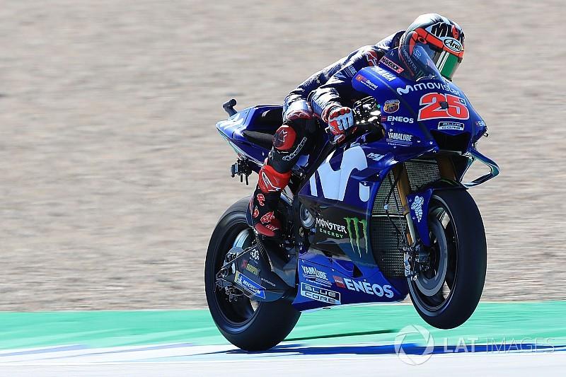 MotoGP Assen 2. antrenman: Vinales, Yamaha ile ilk sırada