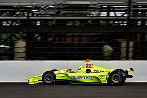 IndyCar Trainingsbericht Indy 500: Simon Pagenaud am ersten Trainingstag Spitze