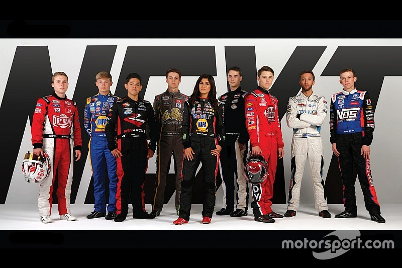 Nine members of 2018 NASCAR Next class are unveiled