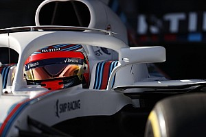 Fórmula 1 Noticias Video: Robert Kubica maneja el nuevo Williams de F1