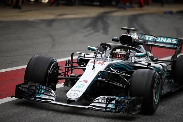 У Mercedes возникли на тестах сложности с мягкими шинами Pirelli