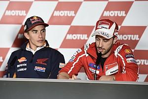MotoGP Preview Dovizioso sebut kekurangan Marquez berinya harapan gelar