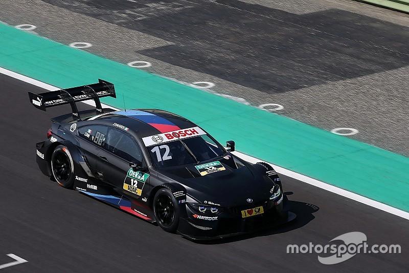 Дзанарди проехал почти 300 кругов на тестах машины DTM