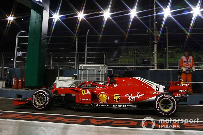 Vettel: Ferrari went in wrong direction in FP2