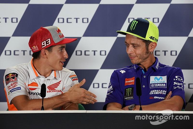 Nossa relação não é importante, diz Rossi sobre Márquez