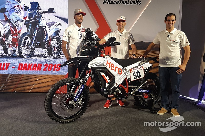 Hero set for third Dakar assault with updated 450RR bike