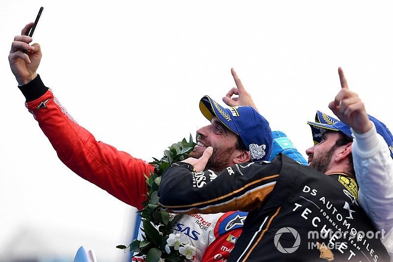 Victoria de Da Costa en el comienzo de temporada de la Fórmula E