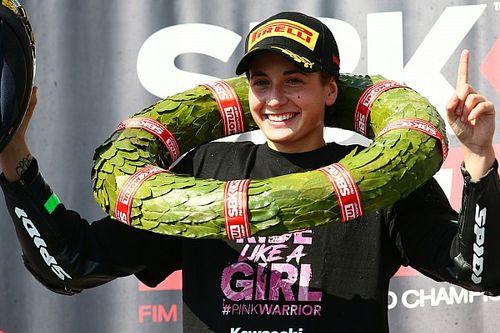 WorldSSP300: Ana Carrasco gewinnt als erste Frau einen Motorrad-WM-Titel
