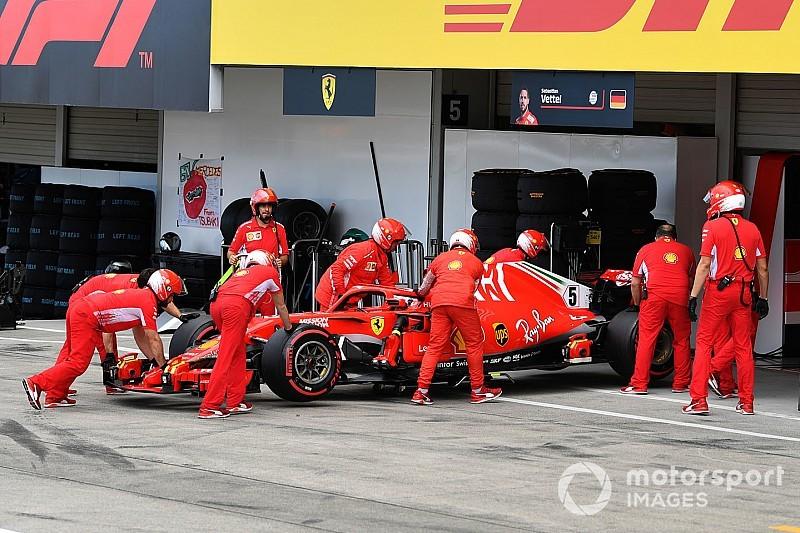 Hamilton no esperaba que Vettel se