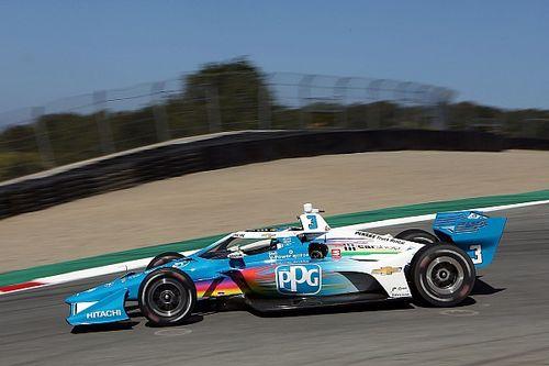 Laguna Seca IndyCar: McLaughlin tops second practice