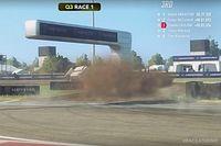 Leclerc no la pasó del todo bien en el World RX Esports