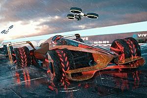 مكلارين قدمت تصميماً فريداً لسباقات الجائزة الكبرى لموسم 2050