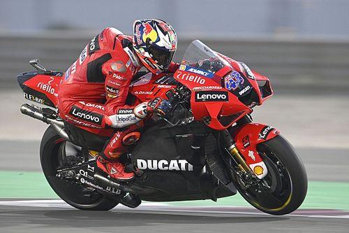 Ducati's Miller smashes Qatar lap record in MotoGP testing