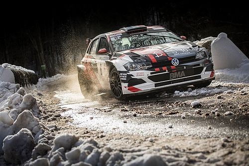 Olivier Burri et Fabrice Gordon en répétition au Rallye Hivernal du Dévoluy