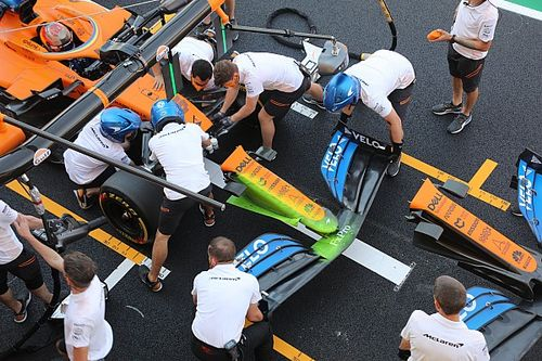McLaren trials new Mercedes-style nose