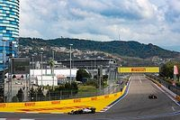 Los pilotos, con Sainz: hay que cambiar esa curva 2 de Sochi