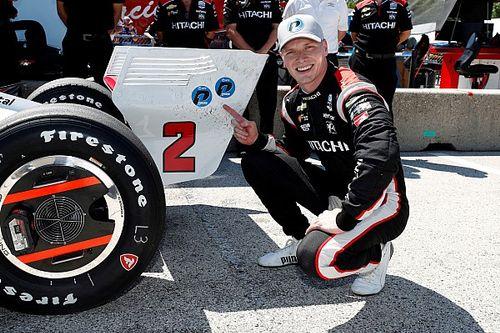 Ньюгарден выиграл квалификацию IndyCar на «Роуд Америка»