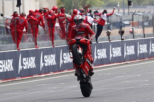 MotoGP Fransa: Yağmurun etkilediği yarışı, iki uzun tur cezasına rağmen Miller kazandı!