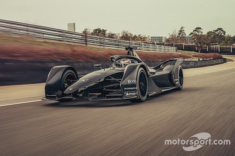 GALERÍA: Porsche realizó una primer salida de su Fórmula E