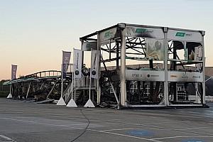 La MotoE cancella la tappa di apertura dopo l'incendio dei test di Jerez