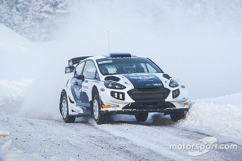 Bottas takes stage win, fifth overall on rally debut