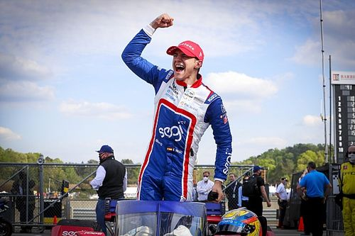 Barber IndyCar: Palou holds off Power, Dixon for first win
