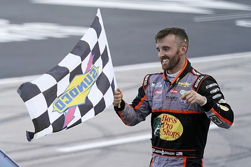 "Austin Dillon's message to skeptics: ""Keep doubting us"""