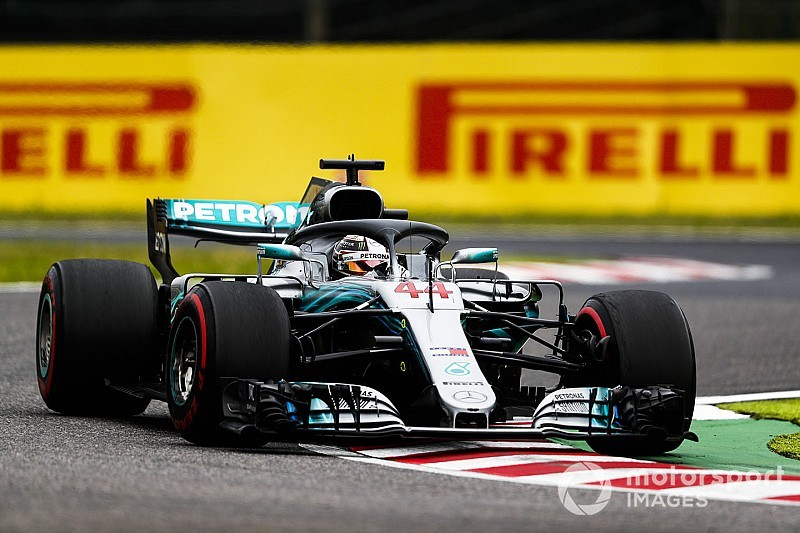 Japanese GP: Hamilton sets commanding pace in FP2