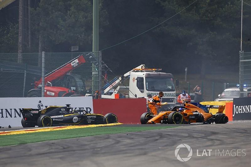Hülkenberg beismerte, hogy ő hibázott - Leclerc szerint is túltolta