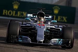 Formula 1 Practice report FP3 GP Abu Dhabi: Hamilton pimpin Mercedes 1-2