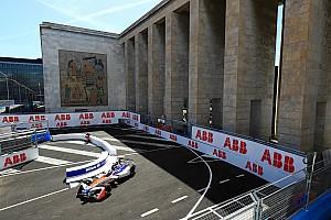 Formule E Résultats La grille de départ de l'E-Prix de Rome