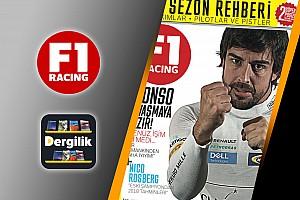 GENEL Son dakika F1 Racing Nisan sayısı dijital olarak Turkcell Dergilik'te