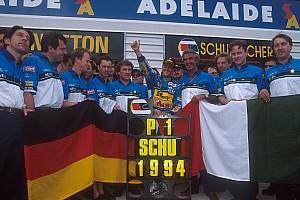 Formel 1 Historie Vor 23 Jahren: Michael Schumacher wird Formel-1-Weltmeister