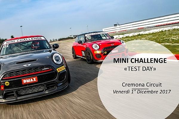 Turismo Ultime notizie MINI Challenge: test ufficiali per il 2018 a Cremona il primo dicembre
