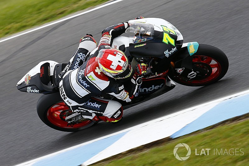 Aegerter launches Moto2 crowdfunding campaign