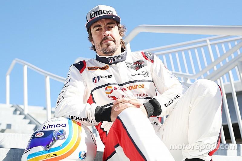 À Daytona, Alonso pense au Mans